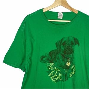Dog Graphic T-shirt Sz 2xl